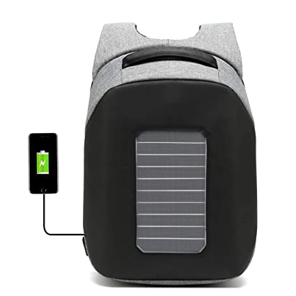 WishY Paneles Solares Solar Mochilas, Cargador Solar ...