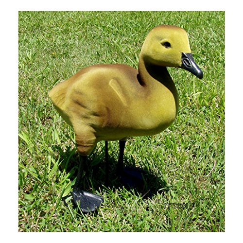 DAKOTA BABY GOOSE GOSLING DECOYS LAWN YARD ORNAMENTS ACTIVE UPRIGHT 1 NEW!