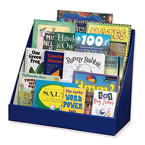 Classroom Keepers Book Shelf, Blue (Kids Bookshelf)