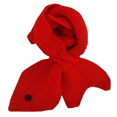 Adela Boutique Toddlers Babies Mermaid Scarves Winter Warm Wrap Neckerchief