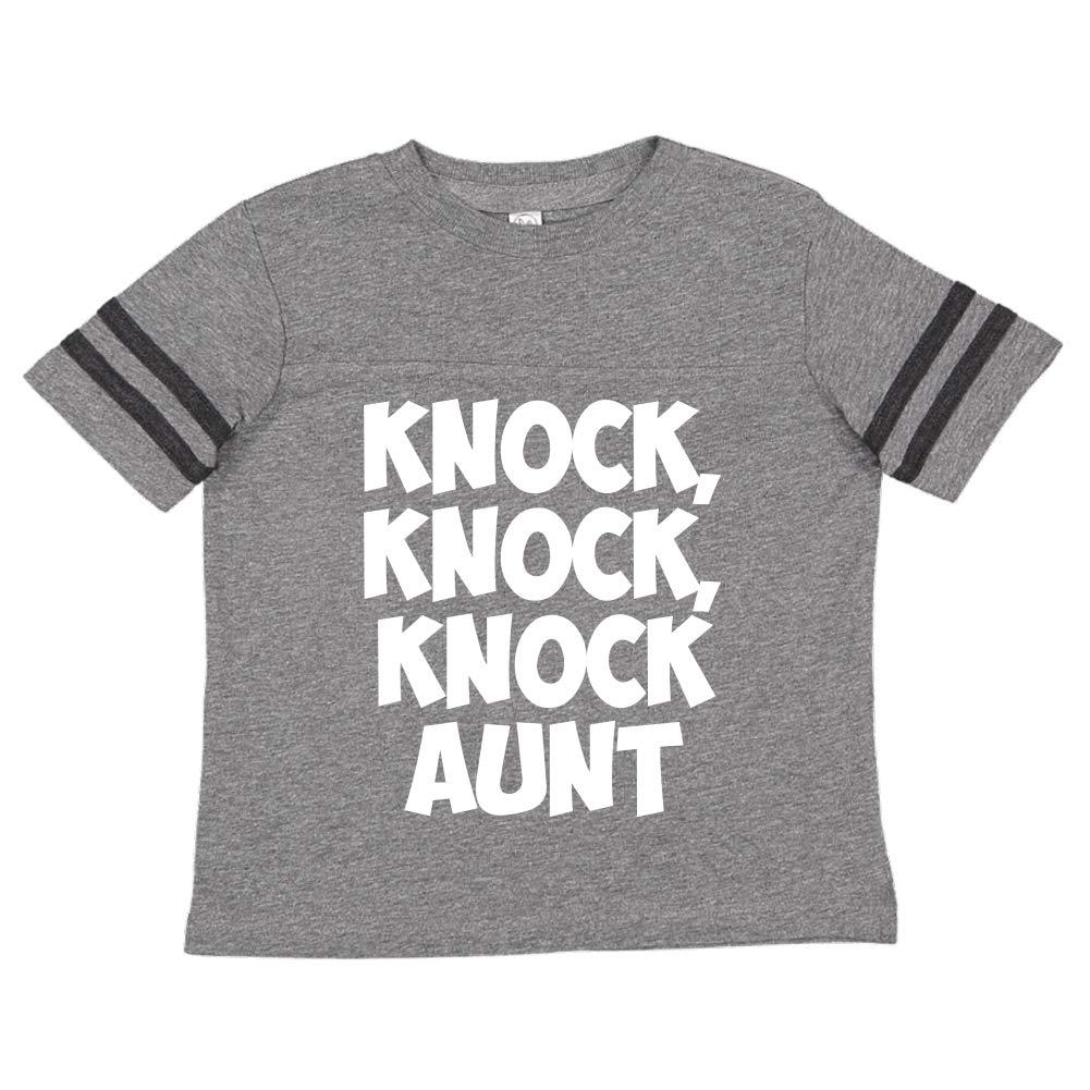 Toddler//Kids Sporty T-Shirt Knock Aunt Knock Knock
