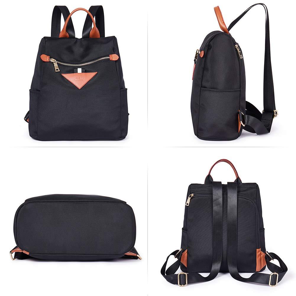 Backpacks Purse for Women Canvas Fashion Travel Ladies Designer Shoulder Bag