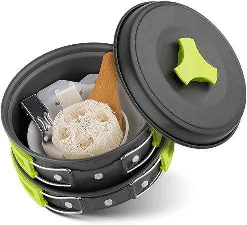 Al aire libre juego de utensilios de cocina Camping cocina ...