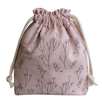 Kentop - Bolsa de tela con cordón, saco de tela, joyas ...