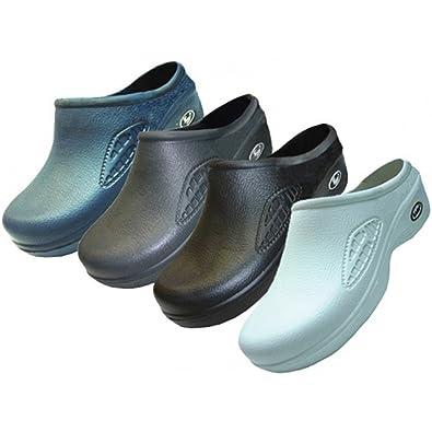 Wholesale Men's Nursing Shoes clogs mules shoes assorted colors black color