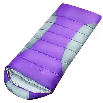 SHUIDAI Adulte plein air sac de couchage/ultra léger/lourd , purple spell ash 1.95 , (190+30) *80