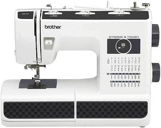 Brother - Máquina de Coser mecánica HF37 - Estructura de Acero ...