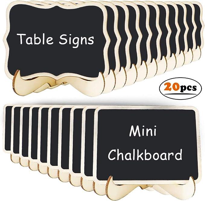Mini Chalkboards Signs