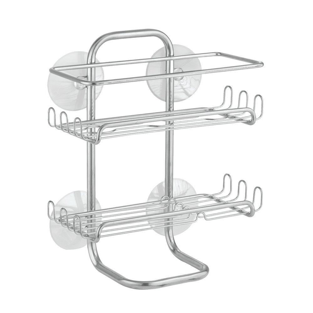 Amazon.com: InterDesign Classico Suction Bathroom Caddy - Shower ...
