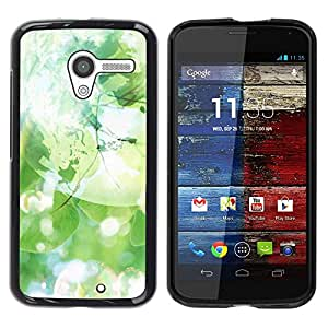 Be Good Phone Accessory // Dura Cáscara cubierta Protectora Caso Carcasa Funda de Protección para Motorola Moto X 1 1st GEN I XT1058 XT1053 XT1052 XT1056 XT1060 XT1055 // Soap Green