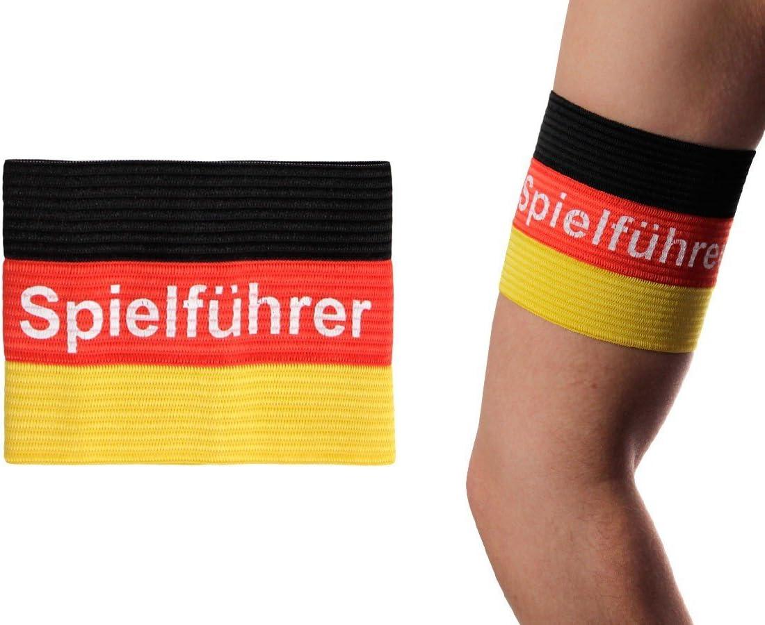 Alsino Alemania Capitán Parte Líder – Brazalete EM Bandera de Capitán Encuadernación, 00/0631 Deutschland Spielführer: Amazon.es: Deportes y aire libre