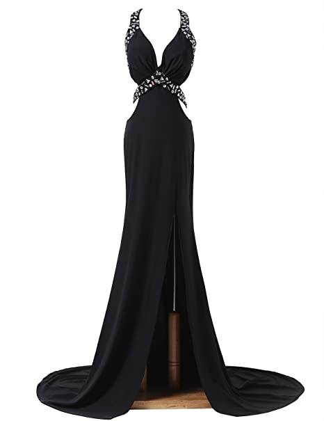 Vestidos de fiesta cortos color negro