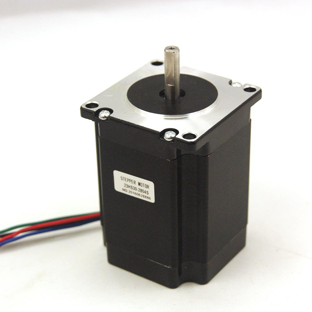 Nema 23 Stepper Motor 2.8A 1.9Nm (269oz.in) 76mm Length for CNC Mill Lathe Router
