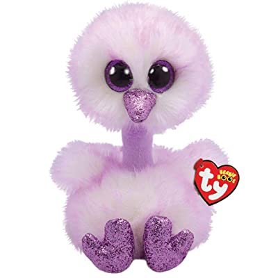 Ty TY36465 Kenya Lavender Ostrich-Boo MED, Multicolored: Toys & Games