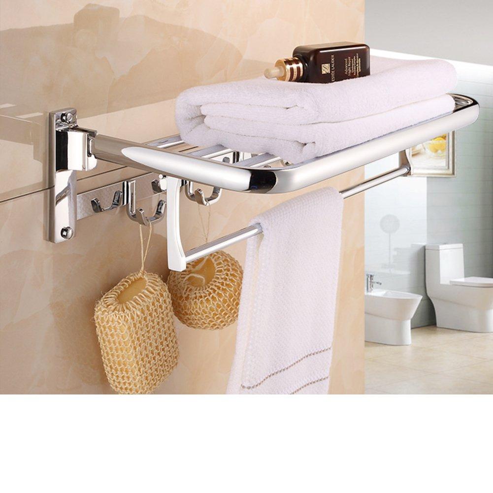 70 off towel rack stainless steel bath towel rack stack for Bathroom accessories fitting