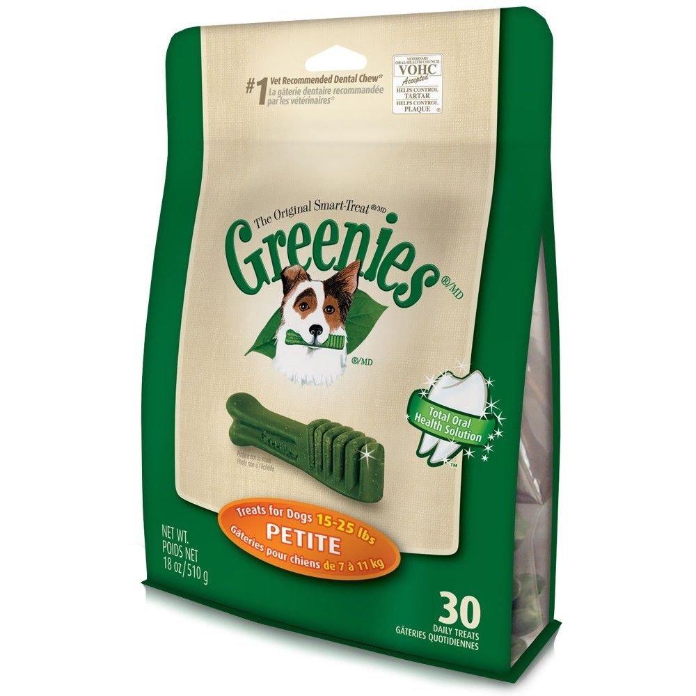GREENIES Mega Treat-Pak-Petite Dog 18 Oz, Pack of 9