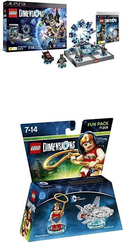 LEGO - Starter Pack Dimensions (PS3) + LEGO Dimensions - Figura Wonder Woman: Amazon.es: Videojuegos