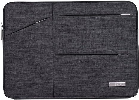 Yonglan Funda protectora para Ordenador Portatil Elegante Tipo portafolios Cremallera Bolsillo adicional Resistente al Para Notebook MacBook Marengo 15Inch: Amazon.es: Deportes y aire libre