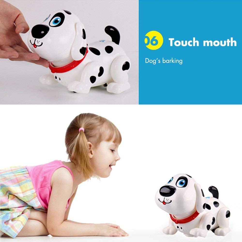 Electronic Dog,Interactive Puppy, Touch with Chasing, Walking, Dancing, Music, Interactive and Induction Toys for Boys or Girls Birthday Gifts by MIGO (Image #5)