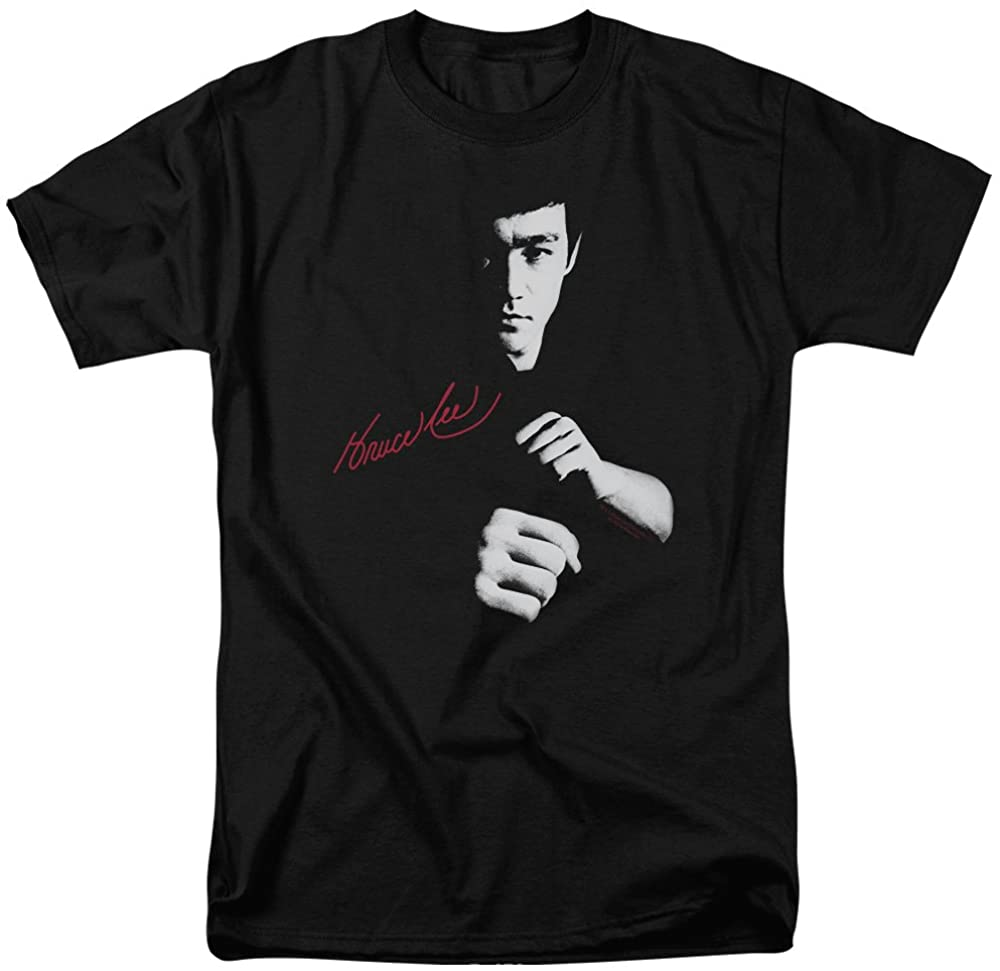 Bruce Lee IN YOUR FACE Portrait Licensed Adult Heather T-Shirt All Sizes