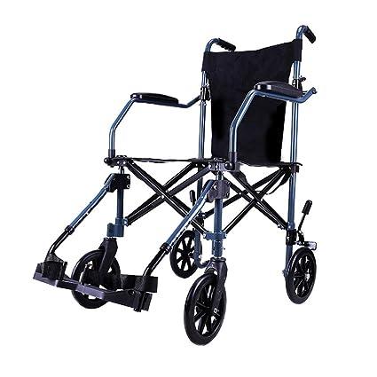 Sillas de ruedas Rueda de Viaje Carro portátil Scooter para Personas Mayores Plegable para niños Scooter