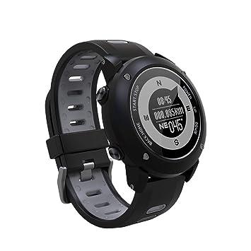QTEC Montres connectées Professional GPS Sport en Plein Air Montre Intelligente Sport Montre-Bracelet Étanche