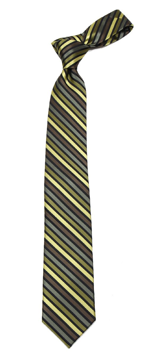 B-11661 - Boys Fashion Necktie Striped Design Stripe Ties