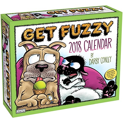 Get Fuzzy 2018 Day-to-Day Daily Desk Boxed Calendar