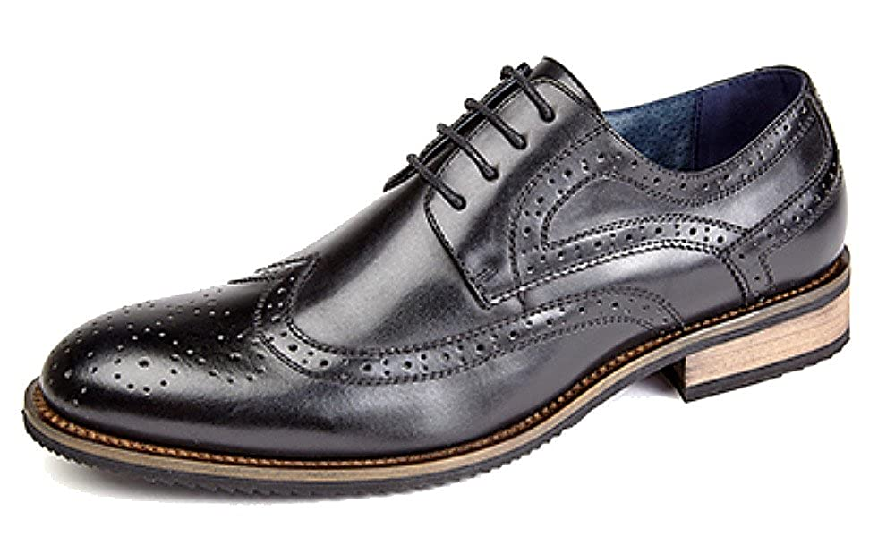 TALLA 30 EU. Route 21 M803 - Zapatos de vestir brogues para hombre