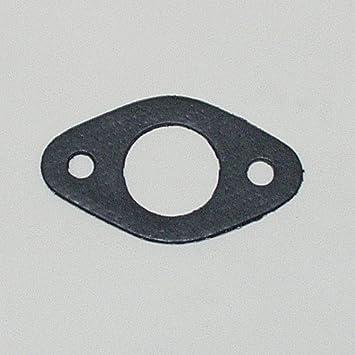 Auspuffdichtung Oval Innen 28mm Dicke 2mm Lochabstand 53mm Auto