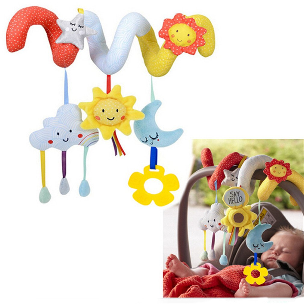 Baby crib gertie - Amazon Com Hengsong Baby Children Twisty Pram Stoller Pushchairs Car Cot Baby Travel Toys Spiral Activity Hanging Rattles Toys Star Toys Games
