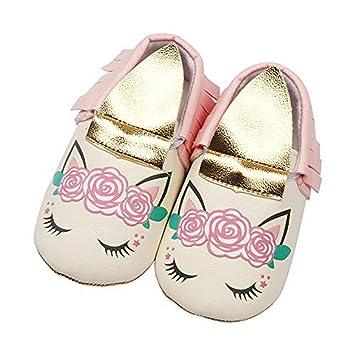 Amazon.com: Zapatillas de unicornio para bebé, para marry ...