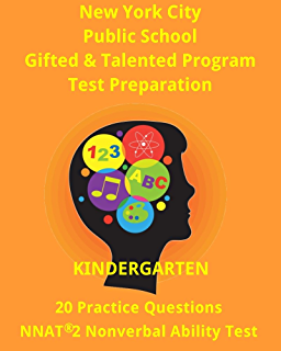 Amazon the testing survival guide for olsat test cogat nyc gifted talented program kindergarten 1st grade practice test 20 questions nonverbal ability fandeluxe Gallery