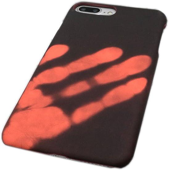 COVER magique-coque iPhone 7 Custodia Custodia Protezione Termica, cambio colore in DIFFÉRENCE temperatura, non tossico e non polluant in TPU Silicone ...