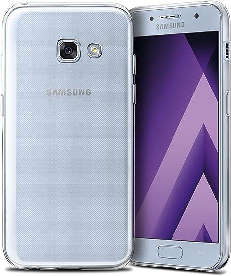 REY Funda Carcasa Gel Transparente para Samsung Galaxy A5 2017 ...