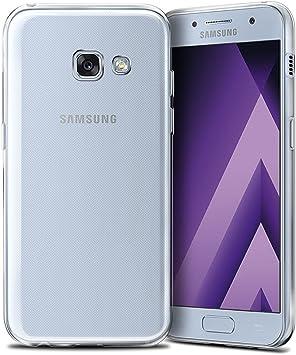 REY Funda Carcasa Gel Transparente para Samsung Galaxy A5 2017, Ultra Fina 0,33mm, Silicona TPU de Alta Resistencia y Flexibilidad: Amazon.es: Electrónica