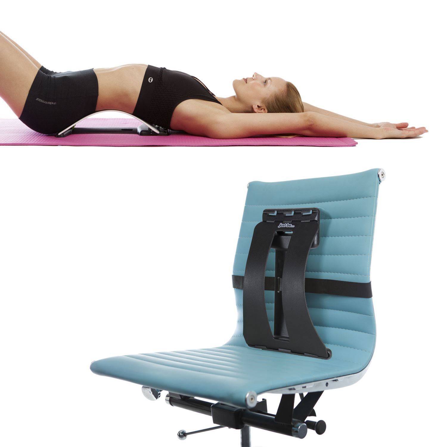 just be 3 in 1 Back Support Black Amazon Sports