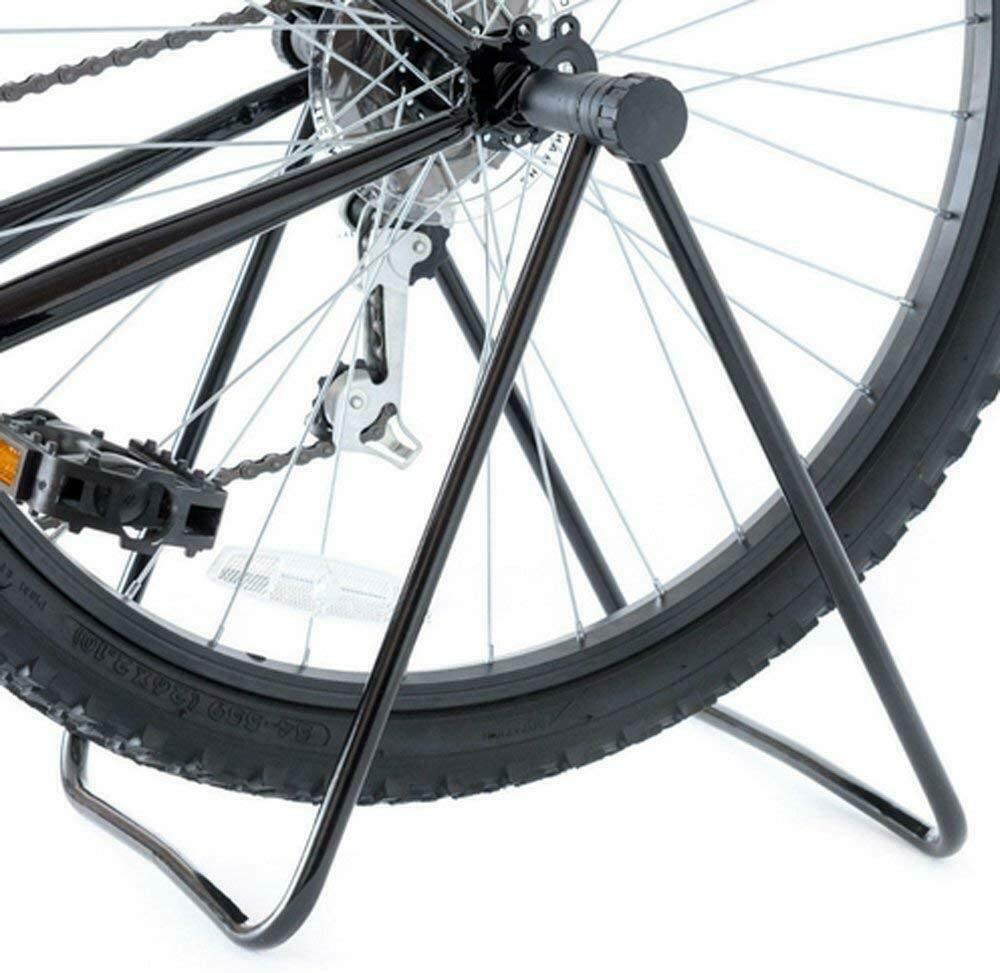 Bicycle Bike Foldable Floor Parking Storage Stand Display Rack Folding Holder