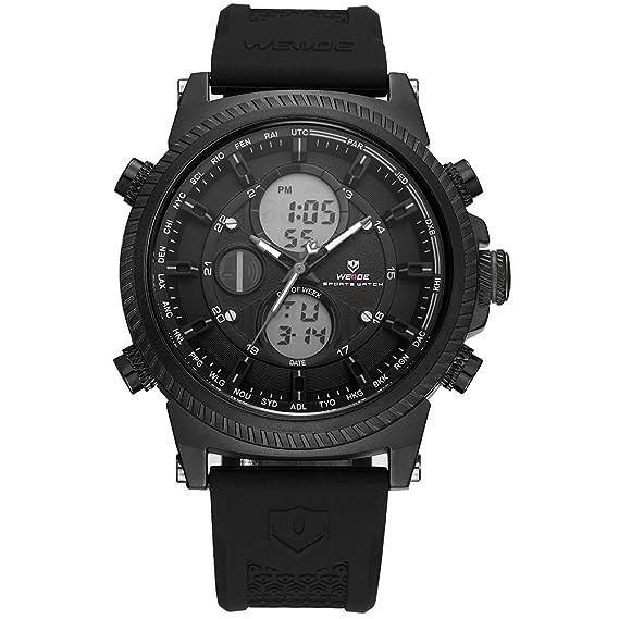 WEIDE analógico Digital watch-men de la moda militar múltiples función, alarma, Legal
