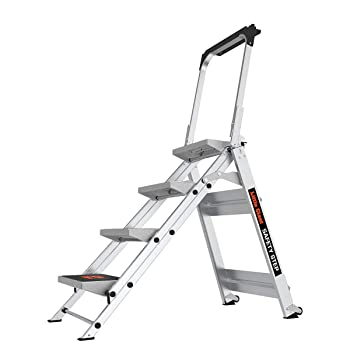 Little Giant 10410BA Safety Step Four Step Ladder