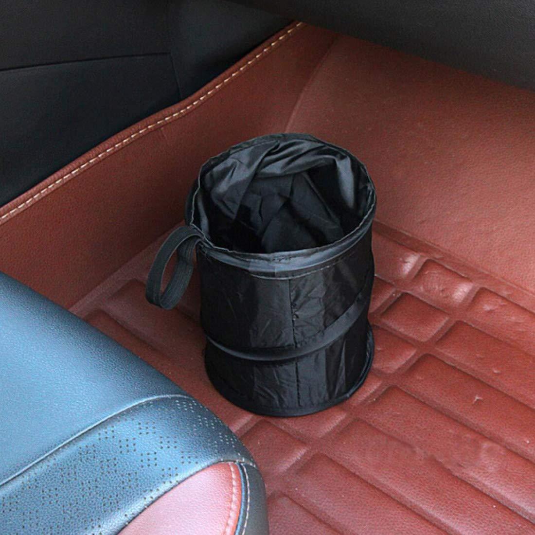 UTSAUTO Car Trash Can Portable Garbage Bin Collapsible Pop-up Leak Proof Trash Can Bag Waste Basket Bin Rubbish Bin 2Pcs