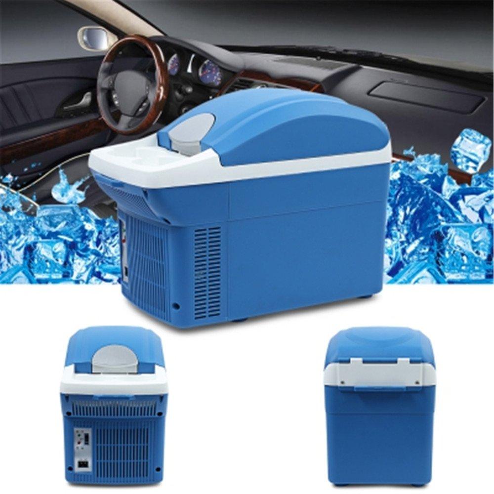 Mini Portable Fridge, Anytec Car Refrigerator for Travel Camping 8L - DC 12V 45W