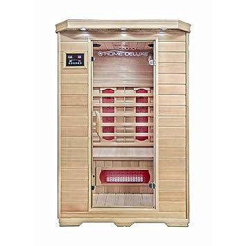 Home Deluxe Infrarotkabine Redsun M Keramikstrahler Holz