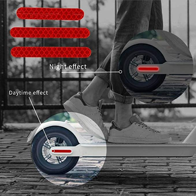 Amazon.com: Facaily Electric Scooter Reflective Sticker ...