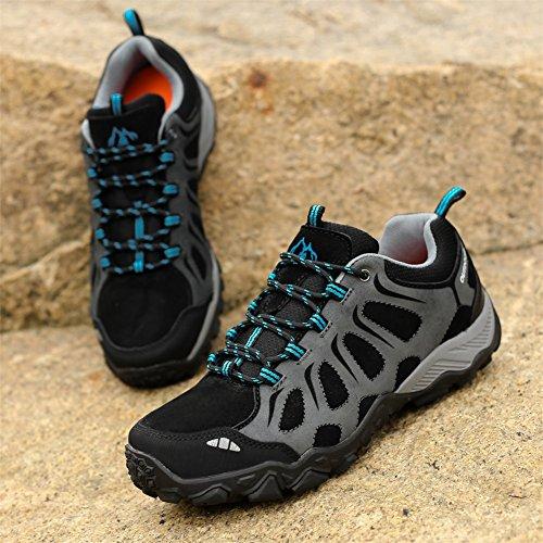 Wildleder Bumper ZPL Gummisohle für leichte Schuhe Outdoor Wanderschuhe blau Trekking Toe Gebrauch atmungsaktiv täglichen Herren Wanderschuhe rvxtRqwv8