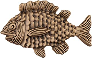 product image for Acorn Manufacturing DPLGP Artisan Collection Fun Fish Knob44; Museum Gold