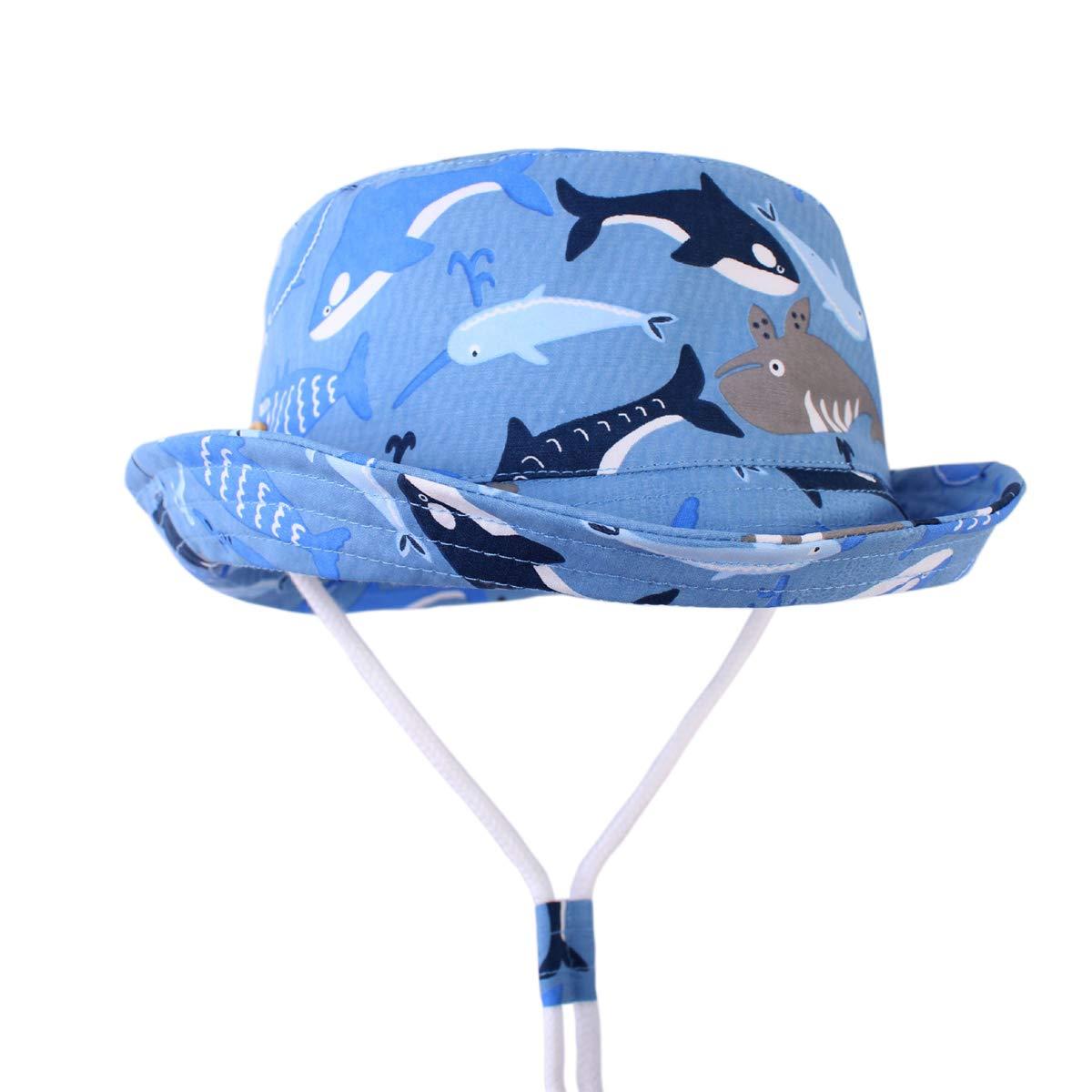 ELIKIDSTO HAT ベビーボーイズ US サイズ: 18.9 inch(48cm):0-12 months カラー: ブルー   B07NVGTQS9