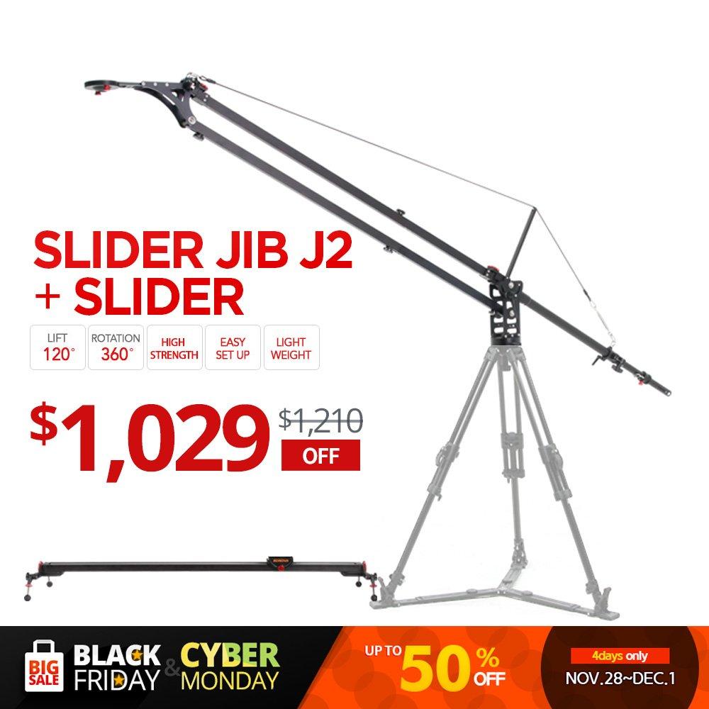 KonovaスライダーJib j2 with k7 150 cm ( 59.1インチ)スライダー( Slider含む、Jib Crane )   B00Q6COC1E