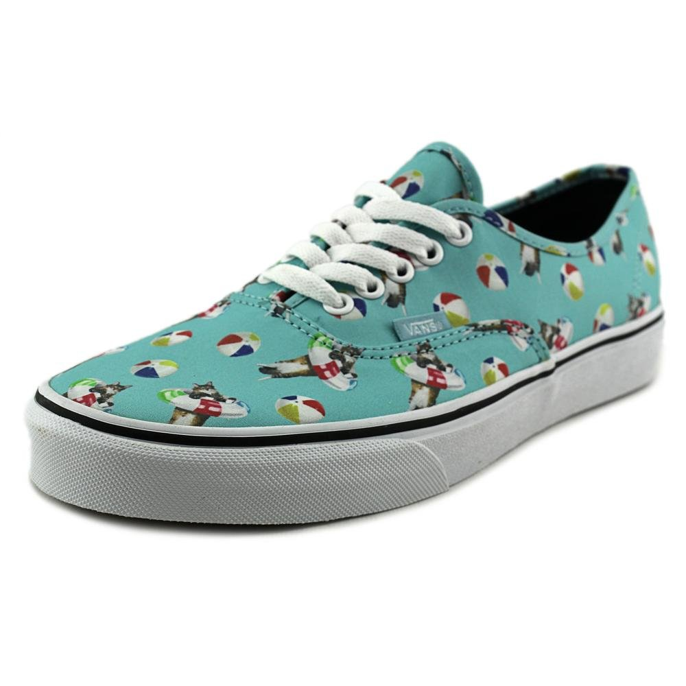 Vans Authentic B0198WN8G8 6.5 M US Women / 5 M US Men|(Pool Vibes)aqua Sea/True White