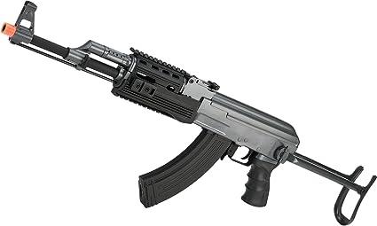 Evike - Full Size AK47-S RIS Airsoft AEG Rifle w/Metal Gearbox & Metal  Underfold Stock by CYMA